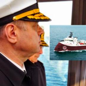 Ο Αρχηγός του τουρκικού Ναυτικού επιβιβάστηκε στο Barbaros! Τι σχεδιάζει για τοΚαστελόριζο