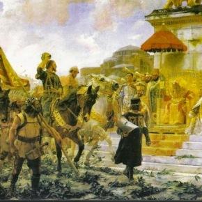 «Ο πιο περήφανος λαός στον κόσμο». Έτσι περιγράφει τους Βυζαντινούς Έλληνες ο Καταλανός στρατιώτης και συγγραφέας Ραμόν Μουντανέρ στο περίφημο Χρονικότου.