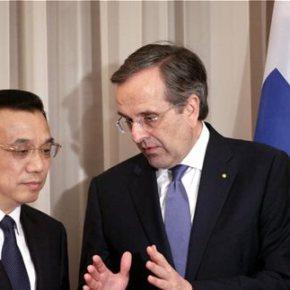 Κινέζος πρωθυπουργός σε Αντ. Σαμαρά: Θα κάνουμε και άλλεςεπενδύσεις