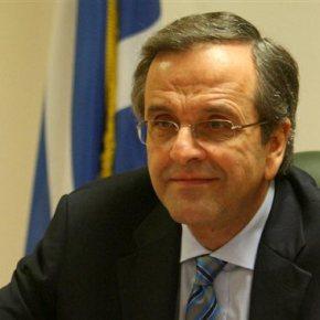 Σαμαράς: Κίνδυνος εξόδου από το ευρώ αν επικρατήσει ο ΣΥΡΙΖΑ Παράλληλα, ο πρωθυπουργός αποσαφήνισε πως ο Σταύρος Δήμας θα είναι ο υποψήφιος πρόεδρος και στις τρεις ψηφοφορίες στη Βουλή, και κάλεσε τους βουλευτές να αναλάβουν τις ευθύνεςτους.