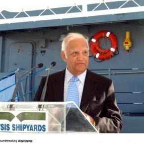 Ο Νίκος Ταβουλάρης των Ναυπηγείων Ελευσίνας απαντά για τιςπυραυλακάτους