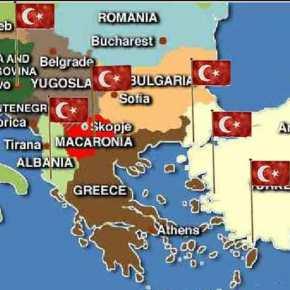 Τουρκικό σχέδιο στρατηγικής περικύκλωσης της Ελλάδος -ακούεικανένας;