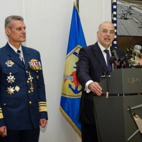 Δήλωση του ΥΕΘΑ Νίκου Δένδια σχετικά με τη συντριβή μαχητικού αεροσκάφους της Πολεμικής Αεροπορίας στηνΙσπανία