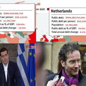 Η Ολλανδία με 594 δισ. δολάρια χρέος γιατί δεν έχειμνημόνιο;