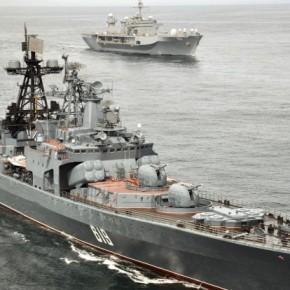 Ξαφνικά! Το ρωσικό ανθυποβρυχιακό πλοίο «Severomorsk» στο ΑιγαίοΠέλαγος