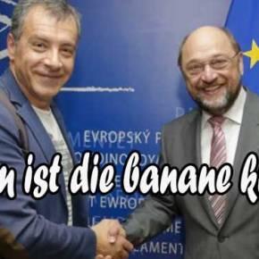 Αυτές είναι δηλώσεις!!! Ο Σούλτς ήθελε κυβέρνηση με το Ποτάμι….(Γιατίάραγε;)
