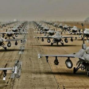 Αεροπορική αμερικανική «εισβολή» στην Κρήτη! 18 F 16 των ΗΠΑ και 300 άτομα προσωπικό στηΣούδα
