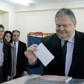 Υπό τα έντονα γιουχαΐσματα και τις αποδοκιμασίες των πολιτών ψήφισε στη Θεσσαλονίκη ο Ε.Βενιζέλος(vid)