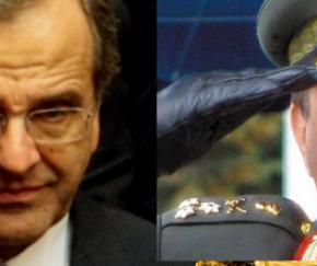 «Γη και ύδωρ» για να μπει στο ψηφοδέλτιο της ΝΔ ο στρατηγός Φράγκος -Τι εισηγούνται στονΣαμαρά