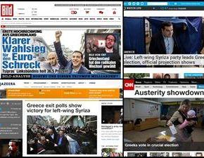Πρώτο θέμα παγκοσμίως η νίκη τουΣΥΡΙΖΑ