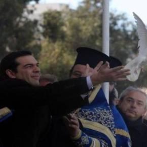 Στον Πειραιά ο Α. Τσίπρας για τον εορτασμό των Θεοφανείων(εικόνες)