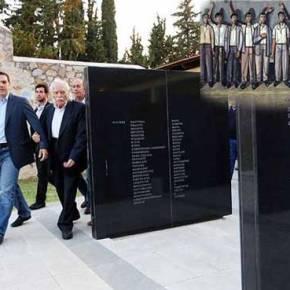 Ηχηρό μήνυμα A.Tσίπρα προς Α.Μέρκελ με επίσκεψη στο τόπο μαρτυρίου της Καισαριανής: «Τίποτα δενξεχνιέται»