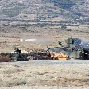 Κύπρος: Οι τουρκικές κατοχικές δυνάμεις πραγματοποίησαν βολές βαρέων όπλων και αρμάτων[εικόνες]