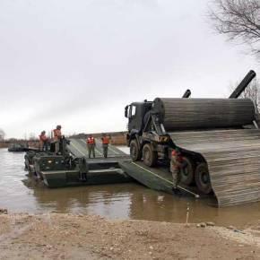Συνεχίζουν τις ασκήσεις διάβασης Ποταμού οι Τούρκοι …Και ετοιμάζονται!(Εικόνες)