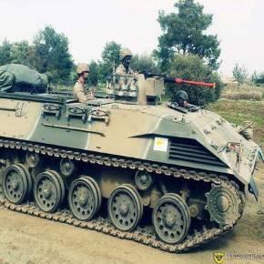 To Κυπριακό Μηχανοκίνητο Πεζικό σε ασκήσεις με πυρά και χρήση «ΤΟΜΠ»(φωτο)