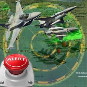 Μαζική «εισβολή» Οπλισμένων Τούρκικων Μαχητικών & Συναγερμός στοΓΕΕΘΑ!