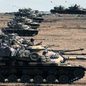 Τουρκική εισβολή στη Συρία με πρόσχημα τον απεγκλωβισμό της φρουράς του μαυσωλείου του ΣουλεϊμάνΣαχ