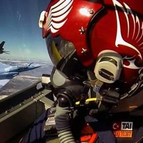 ΣΥΝΑΓΕΡΜΟΣ… Μισή ντουζίνα Τούρκικα Μαχητικά πάνω από τα νησιάμας!