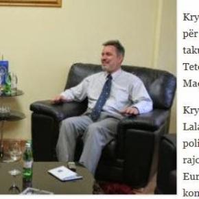 Σκόπια: Συνάντηση Αλί Αχμέτι με ΘεοχάρηΛαλάκο