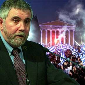Κρούγκμαν: Αν η Ελλάδα βγει απ' το ευρώ και βηματίσει, θα διαλύσει την Ευρωζώνη. Πάτεστοίχημα;