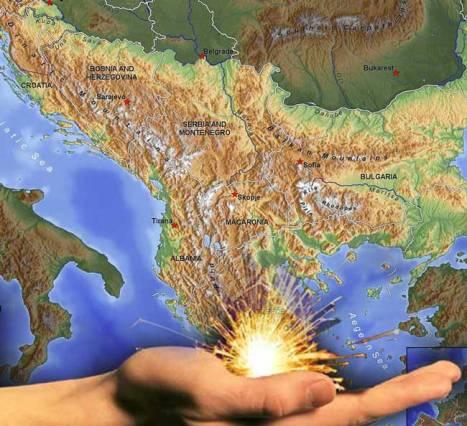 Αποτέλεσμα εικόνας για φωτια στα βαλκανια