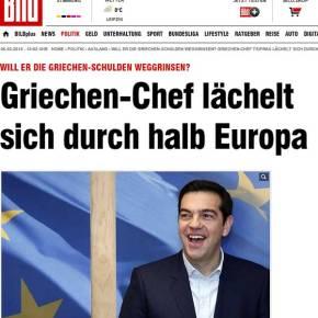 Τα… μεγάλα μέσα των Γερμανών και οι ειρωνείες κατά Τσίπρα: «Η χώρα του είναι χρεοκοπημένη κι αυτόςγελάει…»