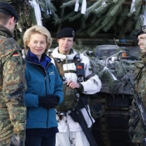 Μας απειλεί και στο NATO η Γερμανία! Απίστευτες δηλώσεις της υπουργού Άμυνας κατάΕλλάδας