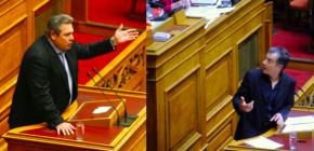 Καμμένος κατά Θεοδωράκη: «Έπαιρνες 20 χιλιάδες ευρώ την εκπομπή στηνΕΡΤ»!