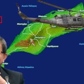 ΕΚΤΑΚΤΟ: Αναγνώρισε οχυρώσεις και θέσεις α/α όπλων τουρκικό ελικόπτερο στην Κω – Πέταξε 300 μ. πάνω από τοέδαφος!