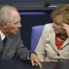 Βερολίνο: Η Μέρκελ «μάζεψε» τονΣόιμπλε