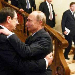Ο Βλαντιμίρ Πούτιν διατηρεί γέφυρα με την Ελλάδα δια τηςπλαγίας…