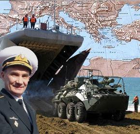 Η «ρωσική Αρκούδα» κατεβαίνει στην ΜεσόγειοΘάλασσα