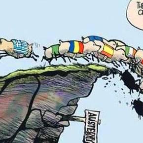 Το σκίτσο των Irish Times για τηνΕλλάδα