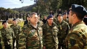 Φωτό από την επίσκεψη του ΥΕΘΑ Πάνου Καμμένου σε Ακριτικά Νησιά -Περιοδεία σε μονάδες των ακριτικών νησιών πραγματοποιεί ο Υπουργός Εθνικής Άμυνας ΠάνοςΚαμμένος.