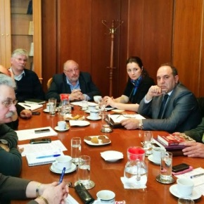 Σύσκεψη με πρωτοβουλία του ΑΝΥΕΘΑ Κώστα Ήσυχου για γερμανικέςοφειλές