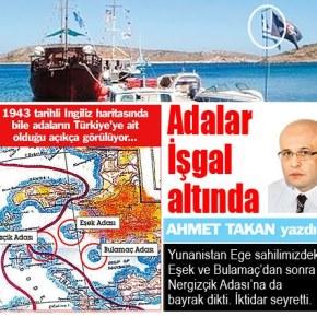 Umit Yalim :«Η θάλασσα του Αιγαίου είναι κλειστή για τους Τούρκους»!