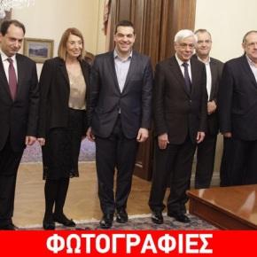Ορκίστηκαν οι τέσσερις αναπληρωτές υπουργοί –Φωτογραφίες