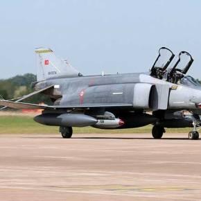Σαν «παπιά» πέφτουν τα Τούρκικα Μαχητικά …Νέα συντριβή RF-4E(φώτο)
