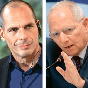 «Η ελληνική οικονομία αντέχει…» τόνισε ο ΥΠΟΙΚ Γ. Βαρουφάκης: Μου ζήτησαν να κόψω μισθούς και συντάξεις | Ο Σόιμπλε δεν κράτησε τον λόγοτου
