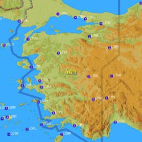 Αυτή είναι η NOTAM πρόκληση της Τουρκίας που «κόβει» το Αιγαίο στημέση