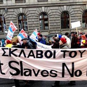 «Η Ελλάδα δεν είναι μόνη της»Γερμανοί διαδήλωσαν υπέρ τηςΕλλάδας