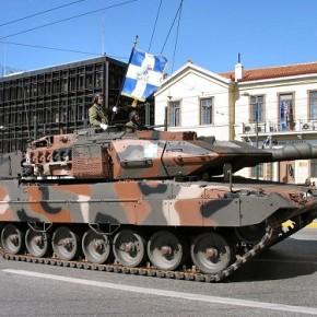 Γκάζια στο «κόκκινο» για τα Leopard 2HEL και ρεκόρ τηλεθέασης της στρατιωτικήςπαρέλασης