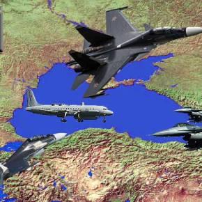 Αερομαχία BVR ρωσικών και τουρκικών μαχητικών στην ΜαύρηΘάλασσα