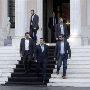 Μαξίμου: Συμφωνία στις Βρυξέλλες να πληρώνουν οι έχοντες και κατέχοντες Σύμφωνα με τις κυβερνητικές πηγές, το πρόγραμμα της κυβέρνησης είναι επεξεργασμένο καικοστολογημένο