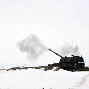 Βολές Τούρκικου Πυροβολικού στα ΤουρκοΣυριακά σύνορα!(φώτο)