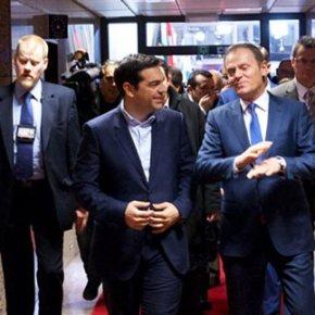 Στις 9 το βράδυ Την Πέμπτη η πενταμερής συνάντηση που ζήτησε ο Τσίπρας από τονΤουσκ