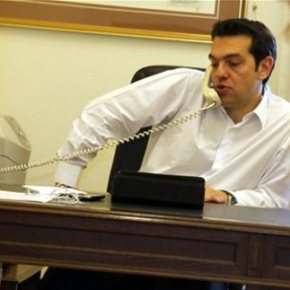 Τηλεφωνικές συνομιλίες Τσίπρα με Ολάντ και Ντράγκι-Ο πρωθυπουργός τόνισε ότι σέβεται την αυτονομία της ΕΚΤ, η οποία δεν πρέπει να υπόκειται σε πολιτικέςπιέσεις