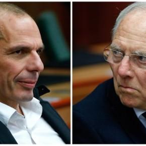 «Αν οι Έλληνες δεν τηρήσουν τις δεσμεύσεις τους, θα υποστούν οι ίδιοι τις συνέπειες»Σόιμπλε: Ο Βαρουφάκης προσπάθησε να με κολακέψει, αλλά δεν έιμαιηλίθιος