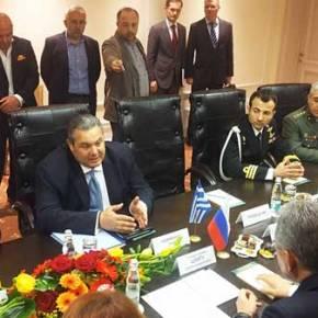 Καμμένος: «Η ελληνική κυβέρνηση έκανε τα πάντα για να σταματήσουν οι κυρώσεις εναντίον της Ρωσίας»(Φωτογραφίες)