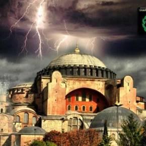 ΑΝΙΕΡΗ ΠΡΟΚΛΗΣΗ: Διάβασαν Μεγάλη Παρασκευή το Κοράνι στο προαύλιο της ΑγίαςΣοφίας